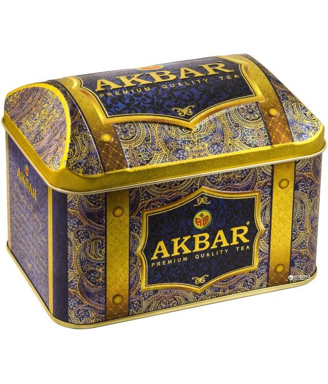 Akbar Chá Preto & Verde Orient Mystery 250gr