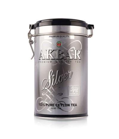 Akbar Té Negro de Ceilán Silver Lata 150gr