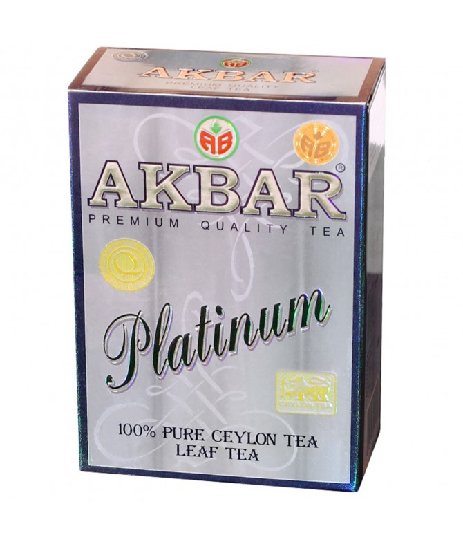 Akbar Chá Preto Platinum 100gr