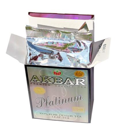 Akbar Té Negro Platinum 100gr