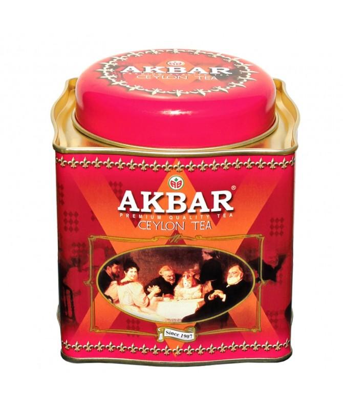 Akbar Té Negro de Ceilán Classic Lata 250gr