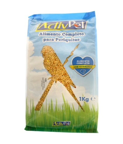Activ Pet Alimento Completo Periquitos 1kg