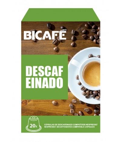 Bicafé Descafeinado Compatível Nespresso 20un