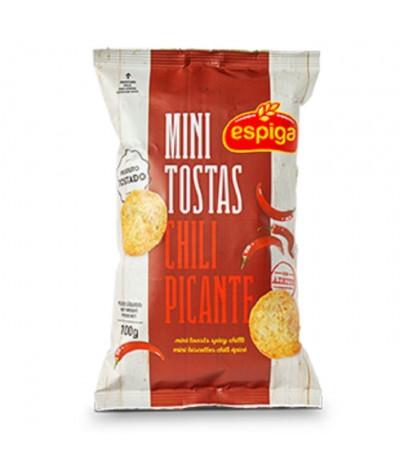 Espiga Mini Tostas Chili Picante 100gr
