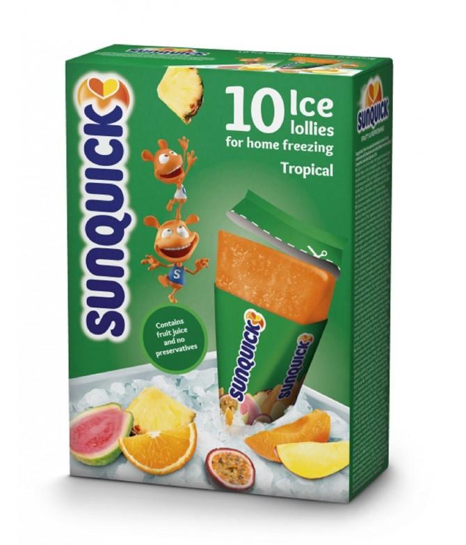 Sunquick Gelado Tropical 10un