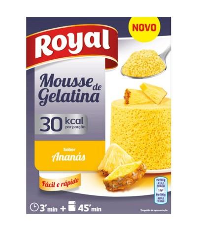 Royal Mousse de Gelatina Ananás 31gr