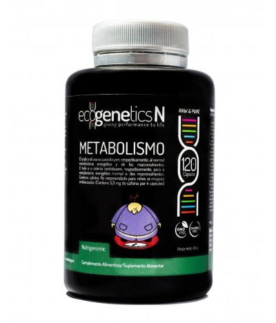 Ecogenetics METABOLISMO OBESIDAD 120un