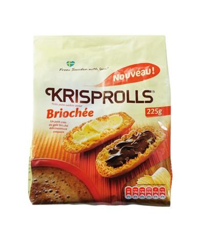 Krisprolls Briochée Biscotes 225gr