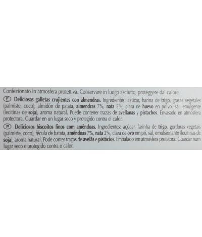 PACK FAMILIA 6 Kambly Bolachas de Amêndoa Caprice 100gr