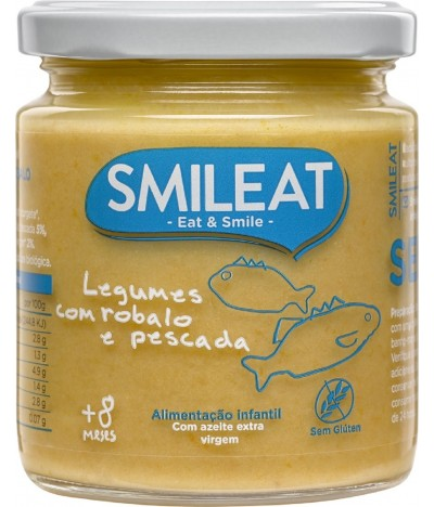 Smileat Tarrito Verduras & Merluza BIO 230gr