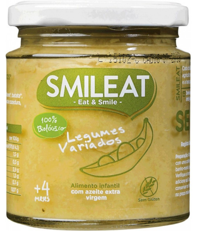 Smileat Boião Legumes Variados BIO 230gr