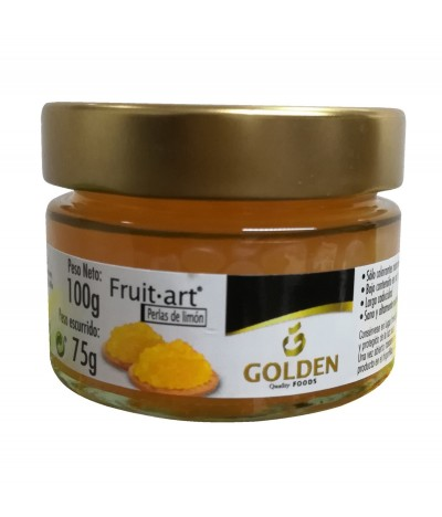 Golden Foods Fruit Art Perlas Limón 100gr