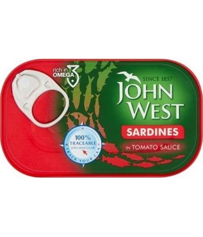 John West Sardinas Salsa Tomate 120gr