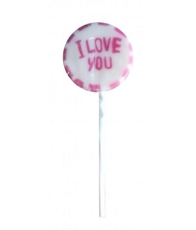 Piruletas I Love You 1un