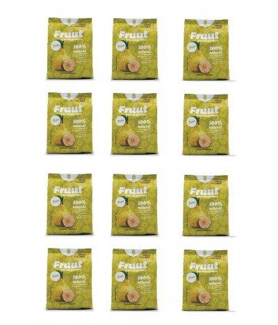 PACK FAMILIA 12 Fruut Snack Chips 100% Pera 20gr