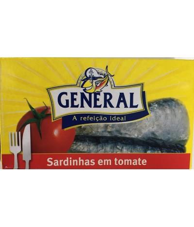 General Sardinha em Tomate 125gr