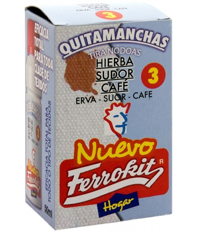 Quita Manchas de Café, Hierba y Sudor Ferrokit
