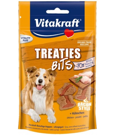 Treaties Bits de Frango Para Cão + 20% Vitakraft