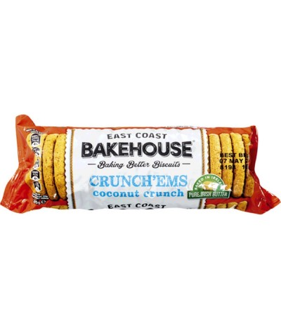 E.C. Bakehouse Cookies Côco 215gr