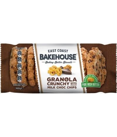 E.C. Bakehouse Cookies Granola Pepitas Choc 160gr