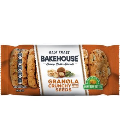 E.C. Bakehouse Cookies Granola & Sementes 160gr