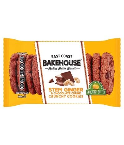 E.C. Bakehouse Cookies Gengibre & Choco 160gr