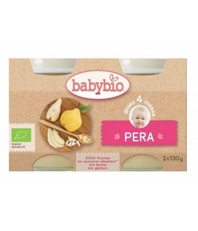 Babybio Potito Pera 2x130gr
