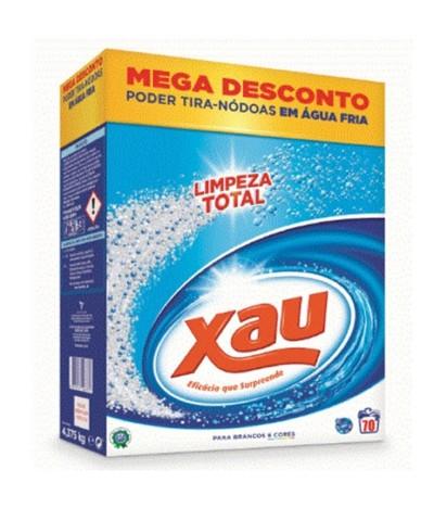 Xau Detergente Roupa Pó Regular 70un