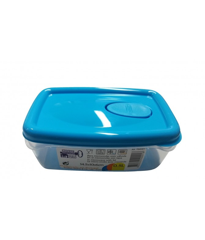 Chave 25 Caixa Hermética Alimentos 0,5L