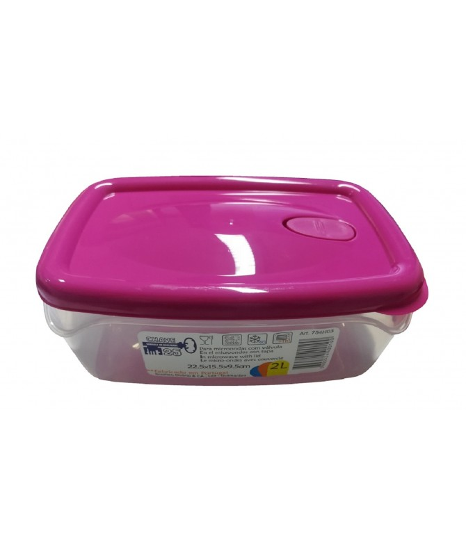 Chave 25 Caja Hermética Alimentos 2L