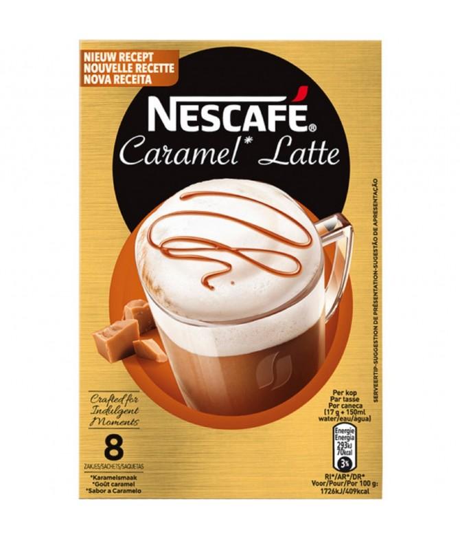 Nescafé Café Caramel Latte 8un