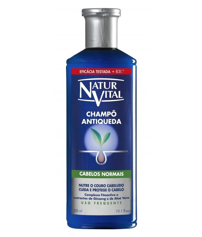 Champô AntiQueda para Cabelos Normais Natur Vital
