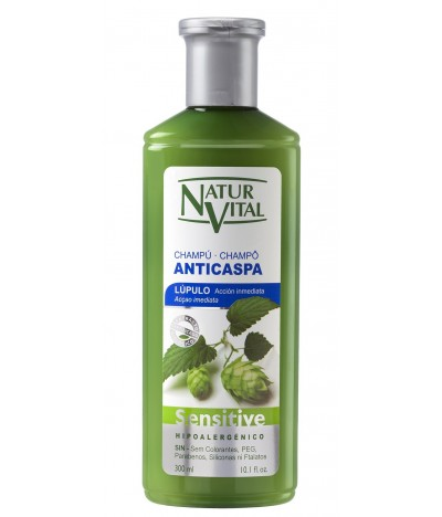 Champô Sensitive AntiCaspa Natur Vital