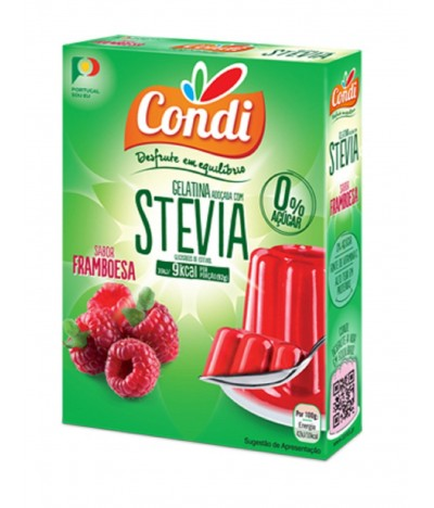 Condi Gelatina Framoesa Stevia 2x15gr