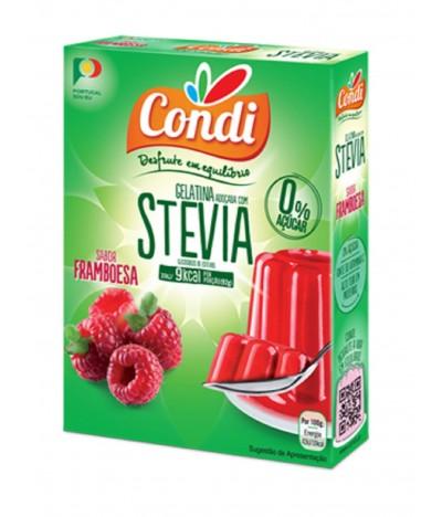 Condi Gelatina Framuesa Stevia 2x15gr