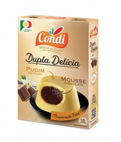 Condi Dupla Delícia Vainilla & Chocolate 80gr