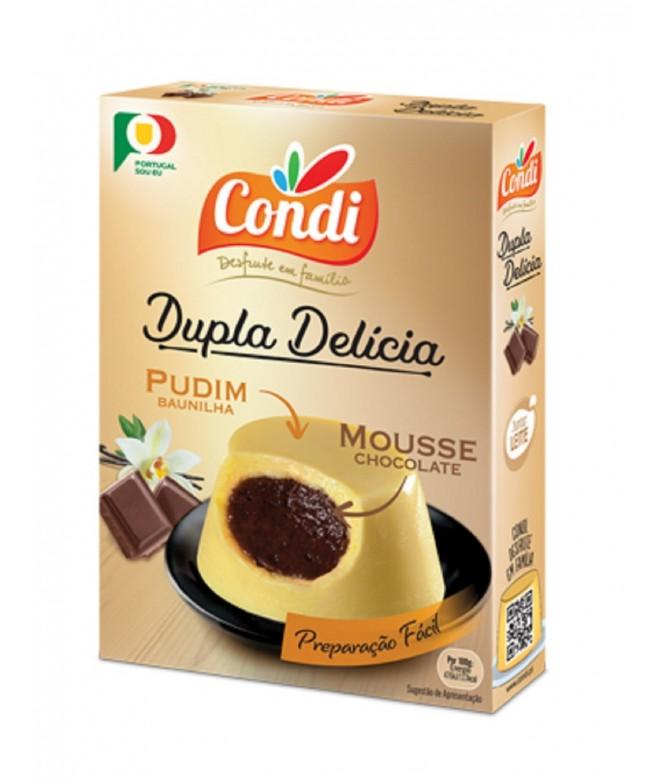 Condi Dupla Delícia Baunilha & Chocolate 80gr