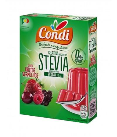 Condi Gelatina Frutos Vermelhos Stevia 2x15gr