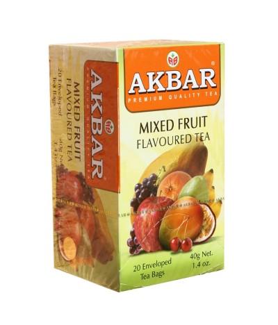 Akbar Té Negro & Varios Frutos 20un