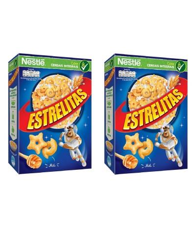 PACK 2 Nestlé Cereais Estrelitas 550gr