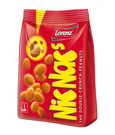 Amendoins Crocantes Revestidos de Sal NIC NACS Lorenz