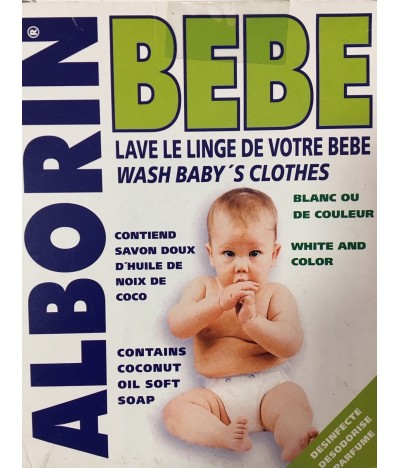Alborim Detergente Polvo Ropa Bebé 400gr