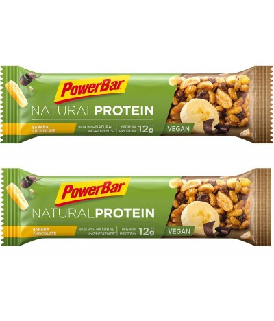 PACK 2 Powerbar Barrita Banana & Chocolate 40gr