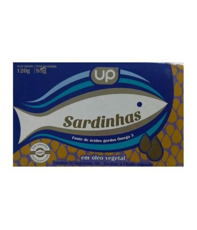 UP Sardinha em Óleo 120gr