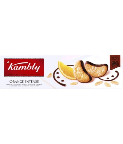 Kambly Bolachas Orange Intense & Chocolate 100gr