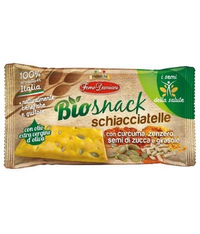 BioSnack Schiacciatelle Crackers Trigo 35gr
