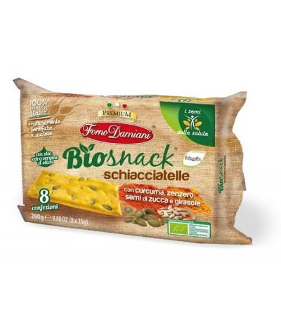 BioSnack Schiacciatelle Crackers Trigo 8x35gr