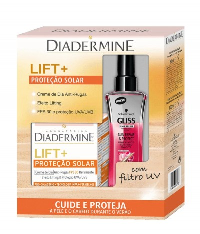PACK Diadermine Lift Crema DÍA & Gliss Sun Repair