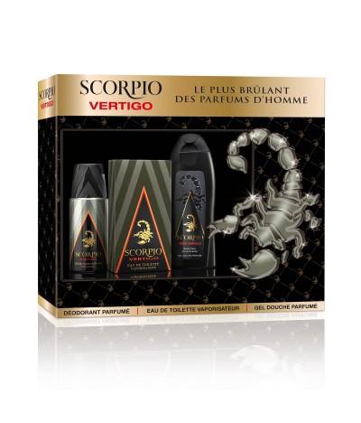 Scorpio Coffret Vertigo Deo Eau Toilette & Gel