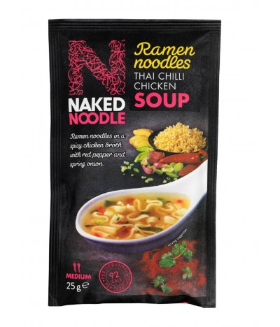 Naked Noodle Sopa Pollo Thai Chilli 25 gr